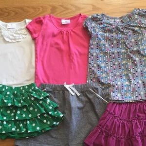 Hanna Andersson 6 pc. Clothing Bundle Girls size 4